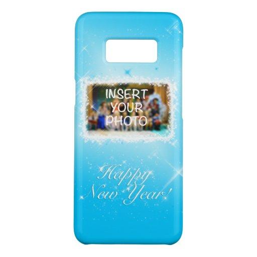 New Year Design! Stars in the Blue Sky. Add Photo. Case-Mate Samsung Galaxy S8 Case