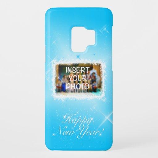 New Year Design! Stars in the Blue Sky. Add Photo. Case-Mate Samsung Galaxy S9 Case