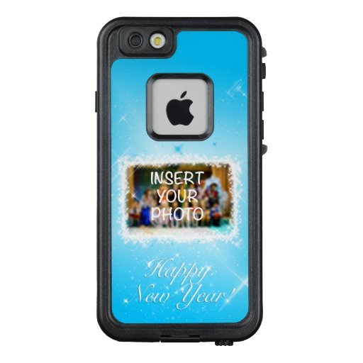 New Year Design! Stars in the Blue Sky. Add Photo. LifeProof FRĒ iPhone 6/6s Case