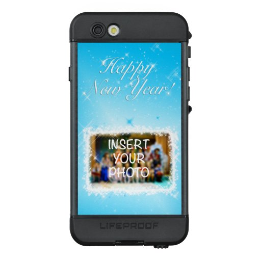 New Year Design! Stars in the Blue Sky. Add Photo. LifeProof NÜÜD iPhone 6s Case