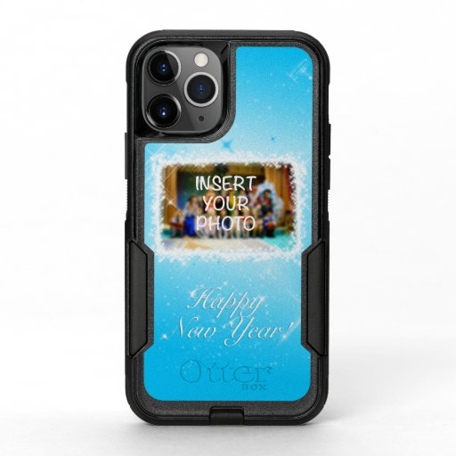 New Year Design! Stars in the Blue Sky. Add Photo. OtterBox Commuter iPhone 11 Pro Case