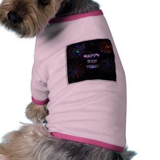 new_year dog t shirt