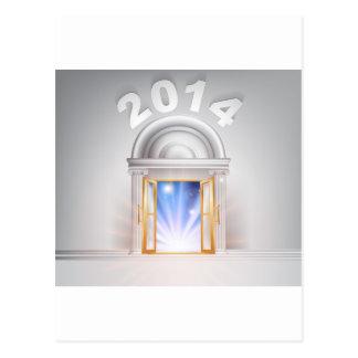 New Year Door 2014 Postcards