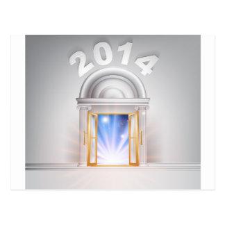 New Year Door 2014 Post Cards