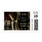 New Year Eve 2010 Party Invitation Postage Stamps
