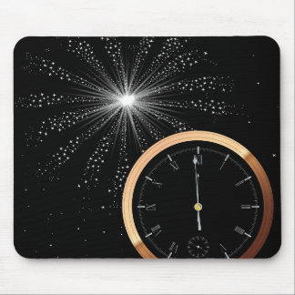 New Year Firework Mouse Pad