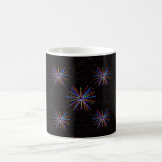 New Year Fireworks  4th of July 2016 Coffee Mug