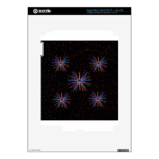New Year Fireworks  4th of July 2016 iPad 3 Skins