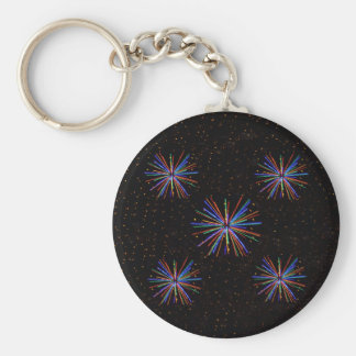 New Year Fireworks  4th of July 2016 Keychain