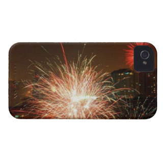 New year: fireworks - Case-Mate iPhone 4 case