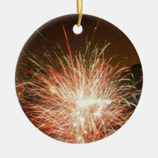 New year: fireworks -