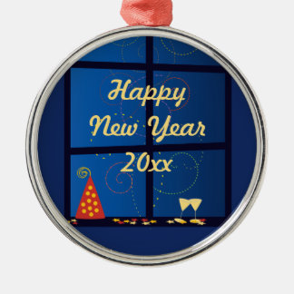 New Year Fireworks Party Pendant Ornament