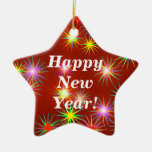 New Year Flash Christmas Tree Ornaments