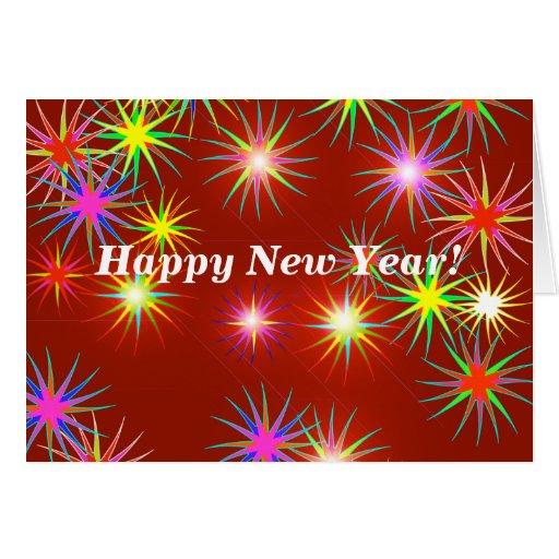 New Year Flash Greeting Card