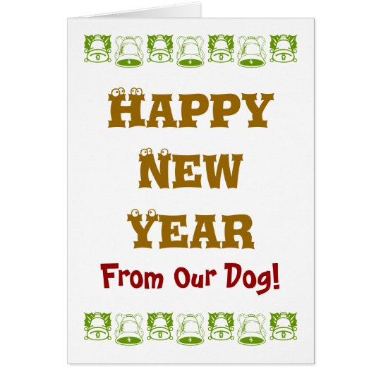 NEW YEAR FOR DOGS CARD