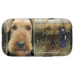 New Year - Golden Elegance - Airedale Galaxy S3 Case