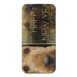 New Year - Golden Elegance - Airedale Covers For iPhone 5