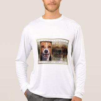 New Year - Golden Elegance - Beagle T Shirt