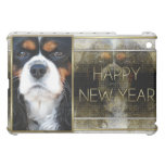 New Year - Golden Elegance - Cavalier - Tri-color Case For The iPad Mini