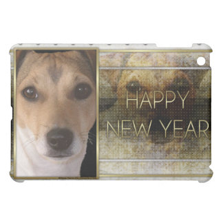 New Year - Golden Elegance - Jack Russell iPad Mini Case