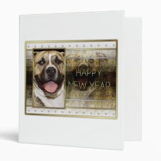 New Year - Golden Elegance - Pitbull Tigger Binder