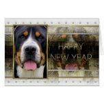 New Year - Golden Elegance - Swissie Card