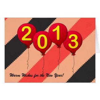 New Year Greeting Greeting Card