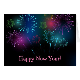New Year Holiday Card
