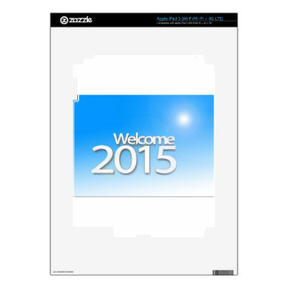 New Year Image 2015 iPad 3 Decal