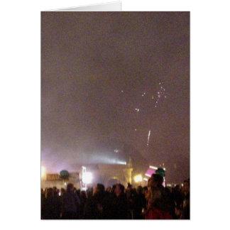 New Year In Balboa Park Card