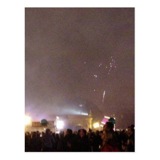 New Year In Balboa Park Postcard