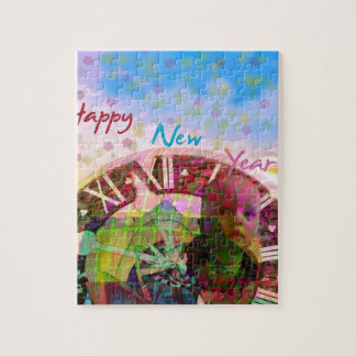 New Year is coming soon Jigsaw Puzzle