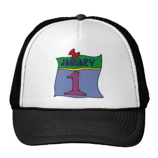 New Year January 1st Trucker Hat
