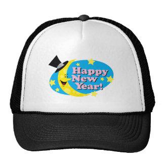New Year Moon & Stars Trucker Hat