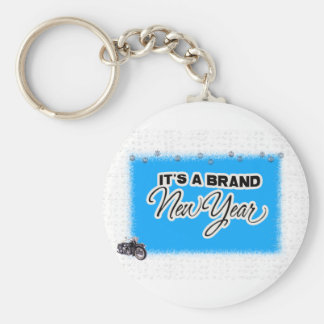new year motercycle key chain