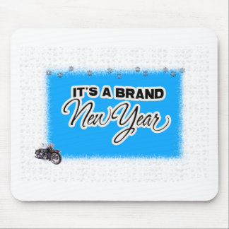 new year motercycle mouse mats