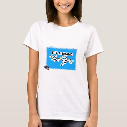 new year motercycle T-Shirt