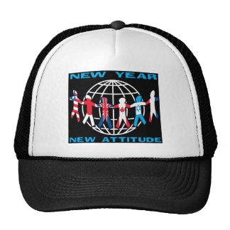 New Year New Attitude Mesh Hats