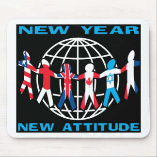 New Year New Attitude Mouse Pad
