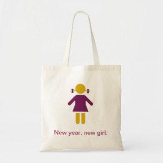 New year new girl bolsa