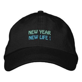 NEW YEAR / NEW LIFE cap (black)