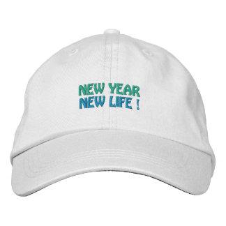 NEW YEAR / NEW LIFE cap (white)