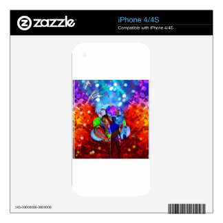 New year New Life. iPhone 4 Skin