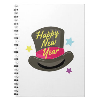New Year Spiral Notebooks