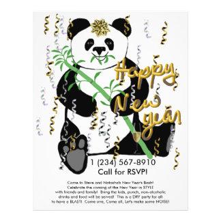 New Year Panda Flyer