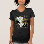 New Year Panda Women's Dark Shirt