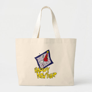 New Year Party Jumbo Tote Bag