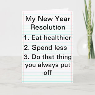 new year plans gone wrong card