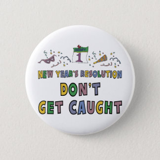 New Year Resolution Button