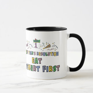 New Year Resolutions Funny Gift Mug